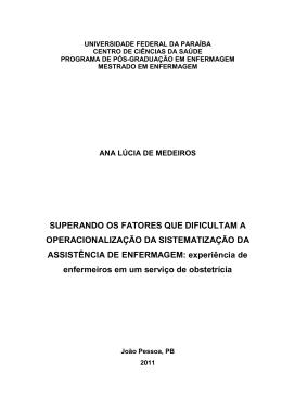 DISSERTAÇÃO - ANA LÚCIA - centro de ciências da saúde