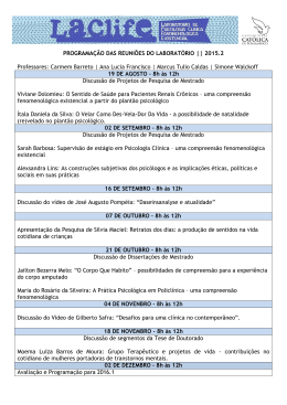 cronograma laclife 2015.2