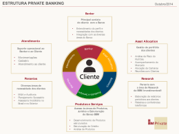 ESTRUTURA PRIVATE BANKING