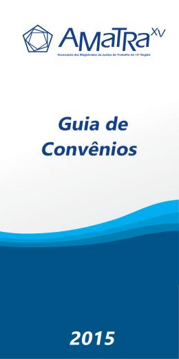 Guia de Convênios 2015