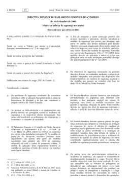 Diretiva 2005/65/CE
