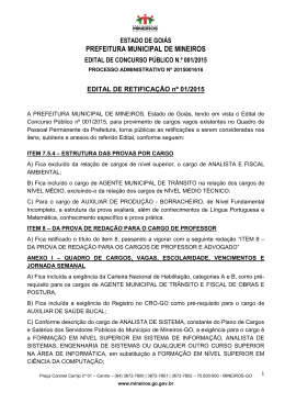 ESTADO DO PARÁ PREFEITURA MUNICIPAL DE URUARÁ