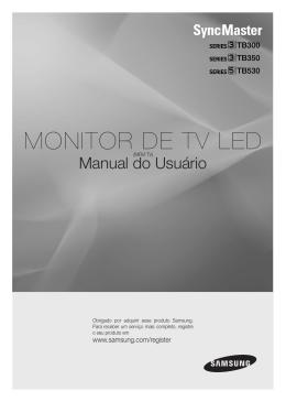 MONITOR DE TV LED