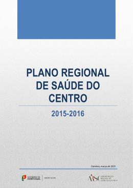 plano regional de saúde do centro 2015-2016
