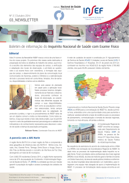 INSEF Newsletter N3