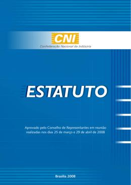 Brasília 2008 Aprovado pelo Conselho de