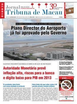 Plano Director do Aeroporto já foi aprovado pelo Governo