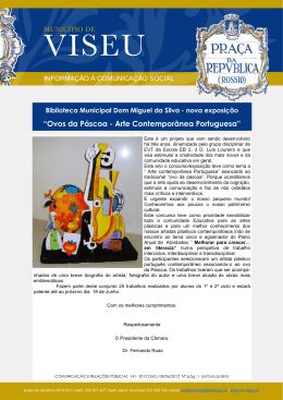 """Ovos da Páscoa - Arte Contemporânea Portuguesa"""