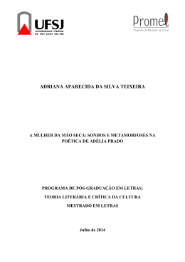 ADRIANA APARECIDA DA SILVA TEIXEIRA