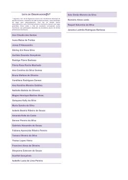 Lista de observadores da II Conferência LGBT