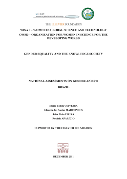 Quantitative - Women in Global Science and Technology