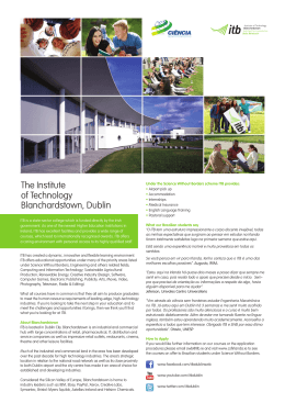 The Institute of Technology Blanchardstown, Dublin