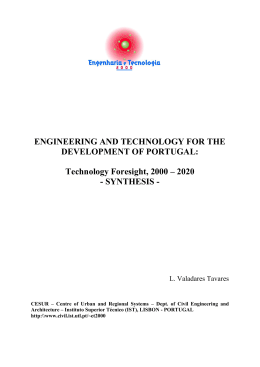 ENGINEERING AND TECHNOLOGY FOR THE DEVELOPMENT OF