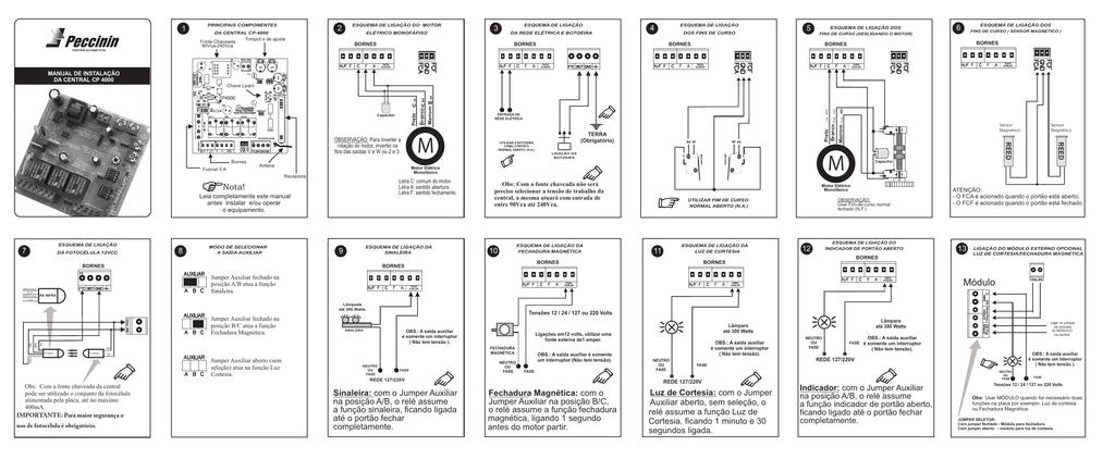 Manual de instalação da Central CP4000.cdr 8645d4aeb1c2