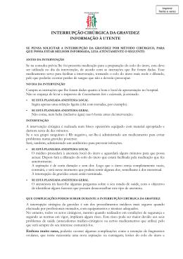 Informação à Utente () - Associação Médicos Pela Escolha