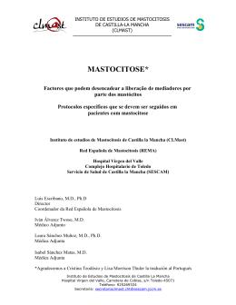 mastocitose - Asociación Española de Mastocitosis