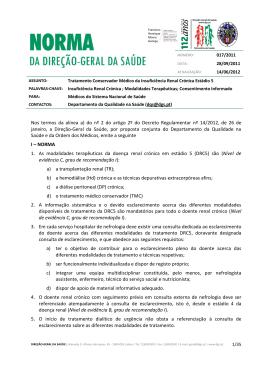 Norma nº 017/2011 de 28/09/2011 - Direcção