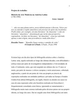 Historia da Arte Moderna na América Latina