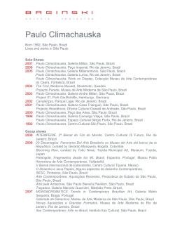 Paulo Climachauska