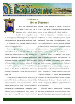Noticiário do Exército - Legião da Infantaria do Ceará