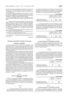 Despacho n.º 5140/2012