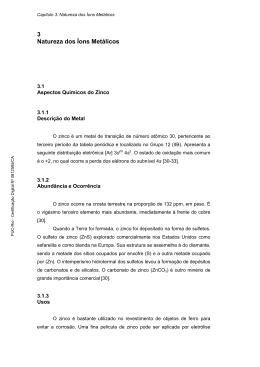 3 Natureza dos Íons Metálicos - Maxwell - PUC-Rio