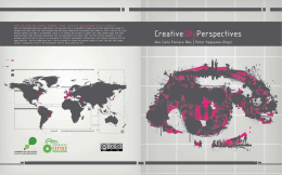 Creative cities perspectives