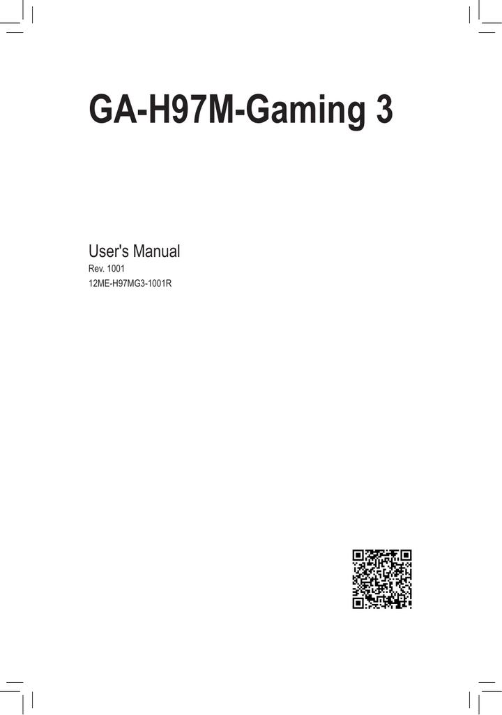 GA-H97M-Gaming 3
