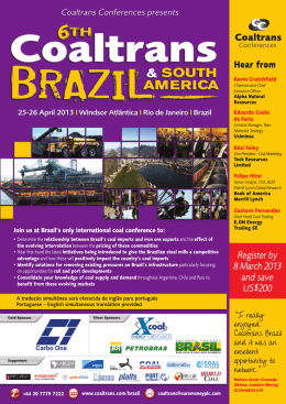 Early Bird Discount – Register by 8 March 2013 and save US$200