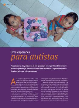 Reportagem Revista UFES - Prof. Dr. Teodiano Freire Bastos Filho