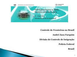 MRTD Seminar - Brazil 2012