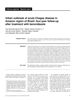 Urban outbreak of acute Chagas disease in Amazon region