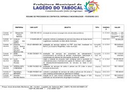 R$ 850,00 - Portal da Prefeitura Municipal de Lagedo do Tabocal