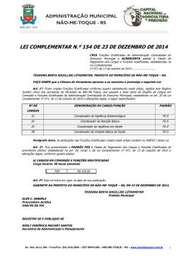 LEI Nº 1914 DE 01 DE OUTUBRO DE 1998