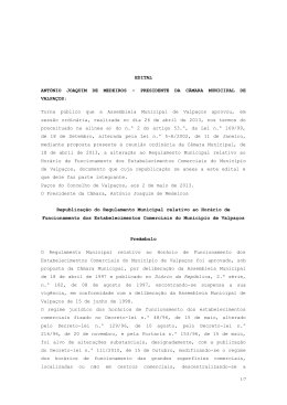 EDITAL ANTÓNIO JOAQUIM DE MEDEIROS – PRESIDENTE DA