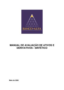 manual de avaliação de ativos e derivativos - sintético