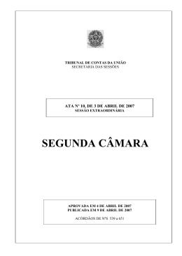 10 - Tribunal de Contas da União