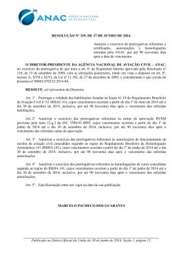Autoriza o exercício de prerrogativas referentes a certificados