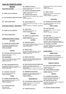 GUIA DE ODONTÓLOGOS