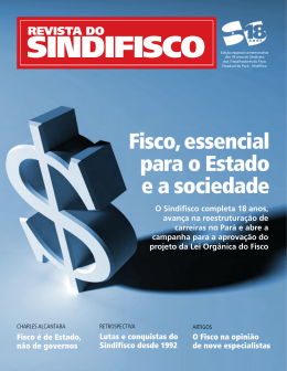 Revista Sindifisco 2010