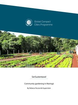 Community Gardening – Maringá, Brazil