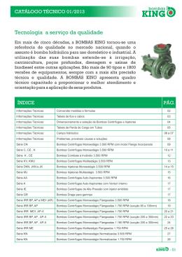 Catalogo Tecnico 2014 (Pág 01 - 28)