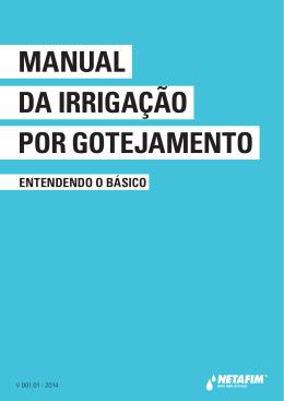 manual da irrigação por gotejamento - NETAFIM