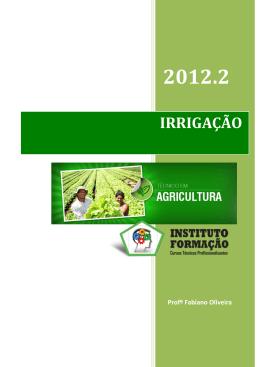 IRRIGAÇÃO - Instituto Formação