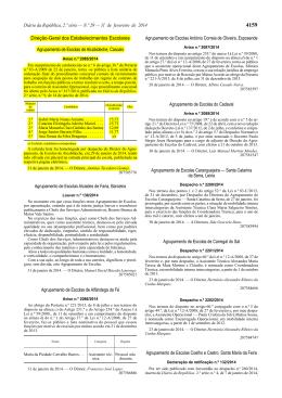 Aviso n.º 2088/2014 - Agrupamento de Escolas de Alcabideche