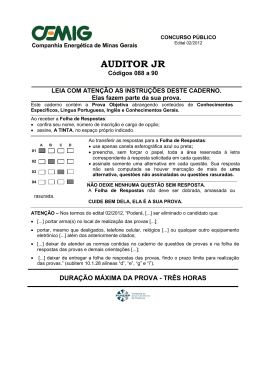 088 a 90 – Auditor Jr