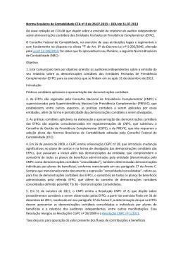 Norma Brasileira de Contabilidade CTA nº 8 de 26.07 - Sescon-RJ