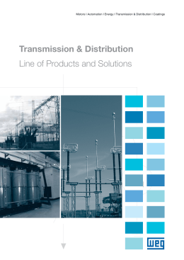 Transmission & Distribution Line of Products and Solutions
