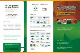 """""""Florestas Plantadas: Produtos e Negócios"""""""