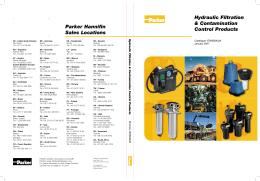 Hydraulic Filtration & Contamination Control Products